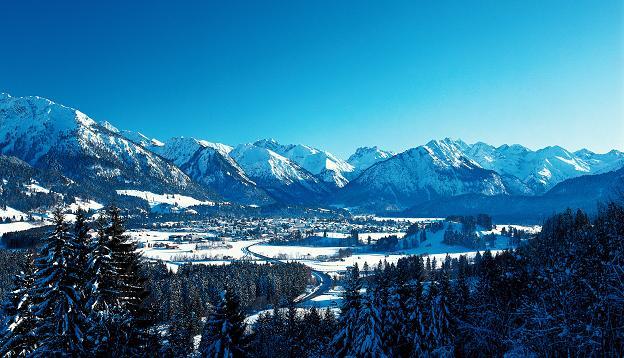 Bayern, Oberstdorf
