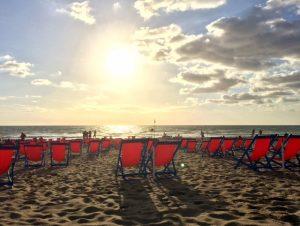 Strand bei Pisa Toskana