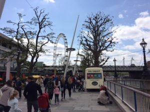 London Bankside mit London Eye