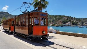 Strassenbahn in Port de Soller Mallorca